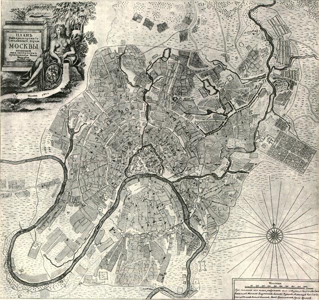Планы и схемы Москвы